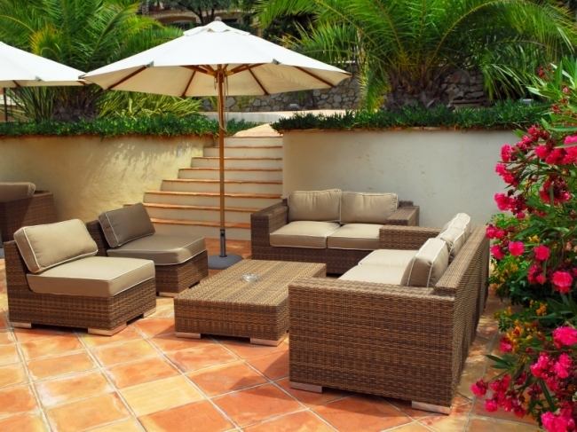 furnishing your garden is rather like furnishing a room youre creating comfortable places to put your feet up while blending colours styles and textures - Garden Furniture Ireland
